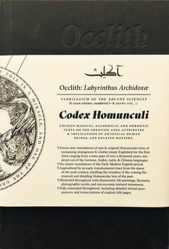 Occlith 1: Codex Homunculi