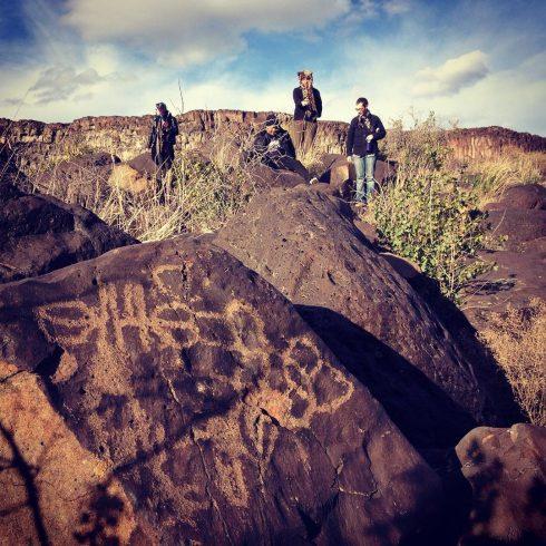 Celebration Park petroglyphs