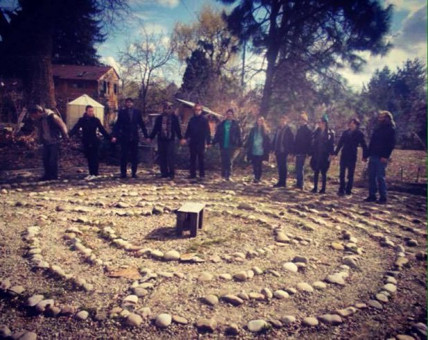 Labyrinth in Boise, ID